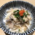 鮪のシマハラ - マグロ皮ポン酢