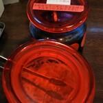 本田商店 - 紅生姜とニンニク醤油