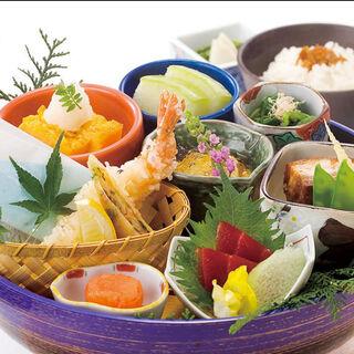 特別な会食や個室でのお食事にもご利用下さい「彩り大名御膳」