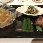中国飯店 - 前菜4種