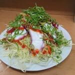 蛸安 - 蛸珍味(タコチンサラダ)