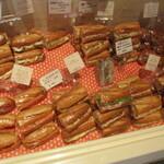シャポー ド パイユ - バリエーション豊かなサンドイッチ!
