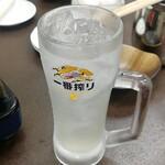 和馬'sキッチン - レモンサワー