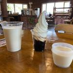 北海道箱根牧場 牧場のレストラン - 頼んだものたち