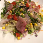 ROCO - 料理写真:島魚刺身サラダ