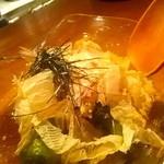 はっすんば - 賀茂茄子と万願寺の冷やし鉢