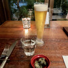 Bio食堂 - ドリンク写真:生ビール&先付け