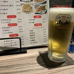 天手古舞 - 生ビール