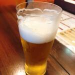 オリエンタルビストロK - 【生ビール ¥500】