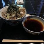 港屋2 - 冷たい肉そば(1,000円)