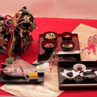 お祝い事におすすめ◎お昼の集いに日本料理をお楽しみください