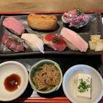 品川 肉寿司 -