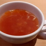 オムライス専門店 イーグル - スープ