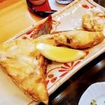 日本料理みうら - カンパチのカマです、何故にこんなに美味しいのでしょう(笑)