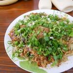 お好み焼き&明石焼き菜野華 - 料理写真:満開コースそばダブル