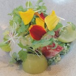 フェルミエ - 料理写真:クスクスのサラダ…クスクスってこんなに美味しかった!?