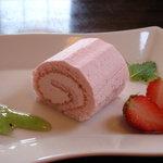 イタリア料理 B-gill - さくらのロールケーキ