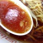 ラーメン 天一 - 意外とさっぱり系スープ!(2012,07/14)