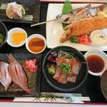 ポロピナイ食堂 - 料理写真:チップ(ヒメマス)づくし 2,980円