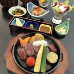 寿司・割烹 すし幸 - ステーキ御膳2,000円(税別)