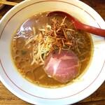 東京味噌らーめん 鶉 - 料理写真:みそらーめん小 780円