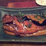 アジアン港宿 遊海月 - 金目鯛の煮付け