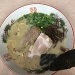 笑福亭 - ● 以前の店舗  豚骨ラーメンは普通かな?