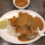 三珍 富士力食堂 - 料理写真:マウンテンチキンカツカリー(大) 1,078円