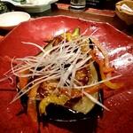 Isoichi - ナスの田楽チーズ焼き