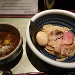 つけ麺 繁田 - 料理写真:味玉つけ麺
