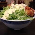丸め - 名物タルタル丼