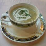 13942588 - コースのスープ