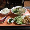 あつし亭 - 料理写真:配膳された定食