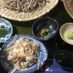 天草蕎麦処 苓州屋 - 薬味
