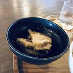 三条スパイス研究所 - 料理写真:レンコンのはさみ揚げ