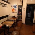 濃厚鶏麺 ゆきかげ - 店内