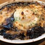 ワールドカフェ - 焼きチーズ黒カレー温たまのせ