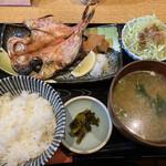 139430827 - 金目鯛の開き定食 (1,000円)