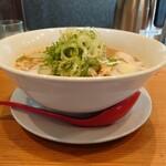 天天有 - 中華そば(大)角スープ