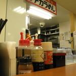 東京チカラめし - 厨房側を望む