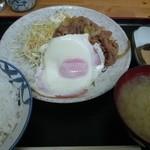 荏原食堂 - しょうが焼定食