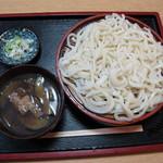 中央食堂 - 料理写真:なす南蛮汁うどん(530円)
