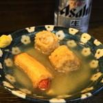 丸健水産 - 2012.7 シュウマイ巻、ソーセージ巻(合わせて390円)