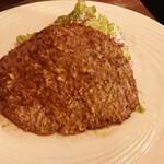 ワイン厨房 tamaya - ハンバーグステーキ 1,280円