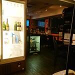 ワイン厨房 tamaya - 店内の様子