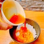 麺劇場 玄瑛 - 料理写真:玄瑛に来て食べない人は居ない『日本一のこだわり卵かけご飯』