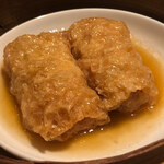 Oosakaheichinrou - 点心単品:湯葉巻きのオイスターソース蒸し 2本500円