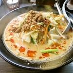 ラーメン仙花 - 野菜の担々麺