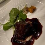 139450911 - メイン:牛頰肉の赤ワイン煮込み