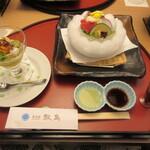 萬象閣 敷島 - 料理写真:セッティング♪